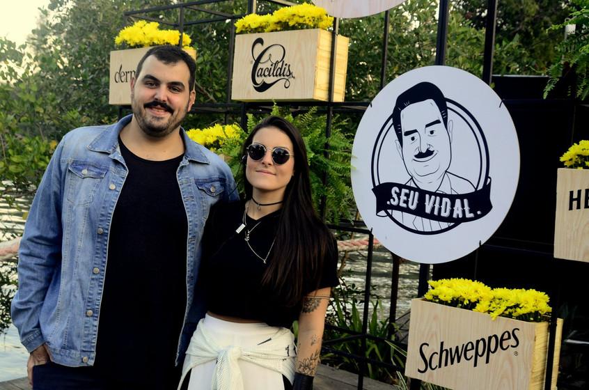 Pedro e Ana Luiza Vidal