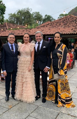 George Soares, Adriana de Rivera, Enzo  Rivera e  Zeneide Prazeres Ribeiro  de  Sousa