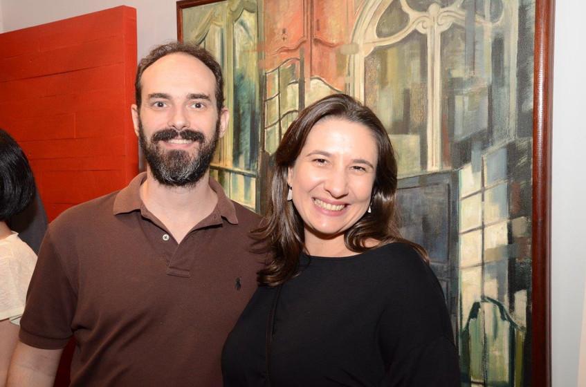 Antonio Paula Machado e Clara Gerchman
