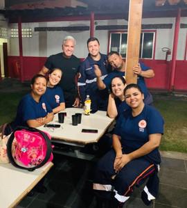 Camila, Karen, Enzo, Rose, Bruna, Waldir, Thiago.