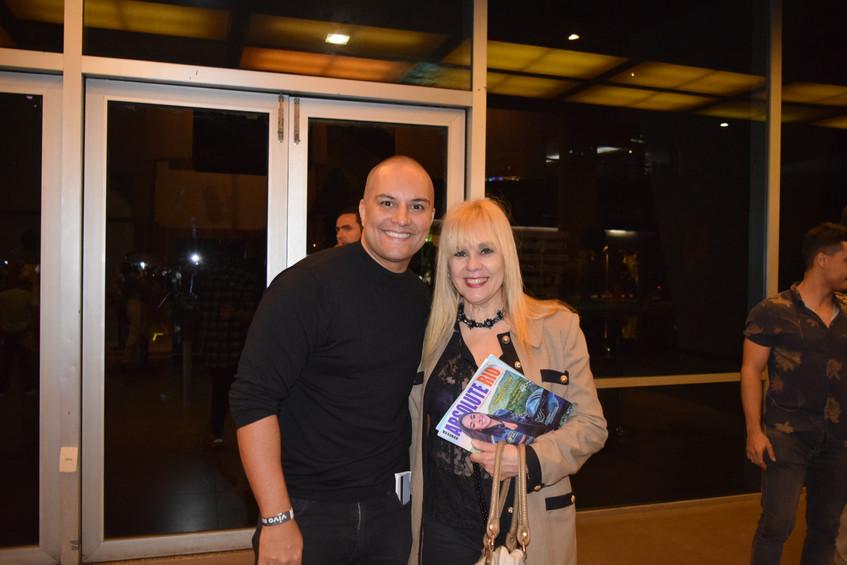 Anderson Farias e Marisa Araujo