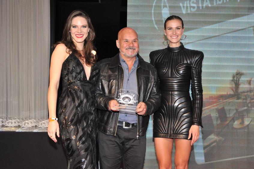 Karin Hormann, Leo Sanchez e Renata Kuer