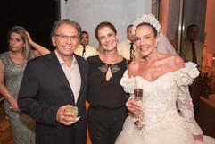 Luis Fernando Sallum, Patricia Sallum e Adriana de Rivera
