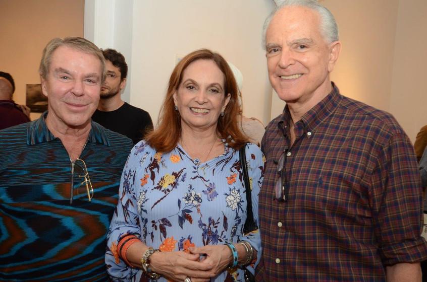 Luiz Carlos Ritter, Sueli e Ricardo Stam