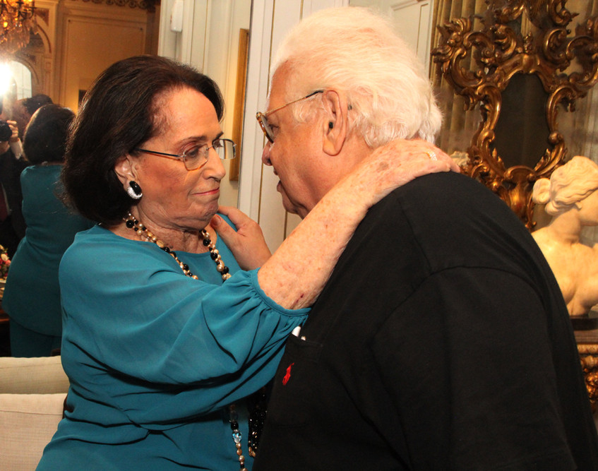 Belita Tamoyo e Carlos Serpa