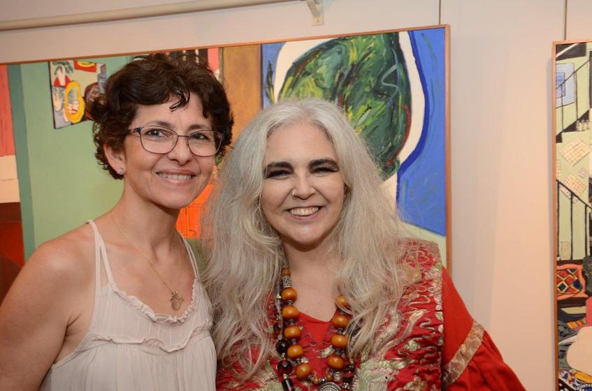 Denise Torbis e Helenice Dornelles