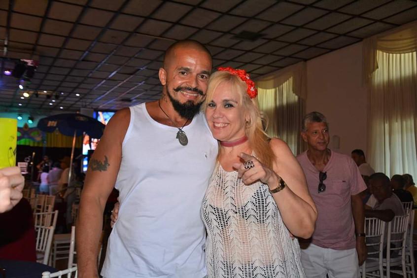 Hilton Ferrer e Marisa Araujo