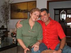 Solangel  Altomare grande  amiga e  Enzo Rivera