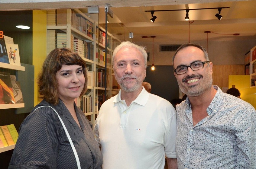 Claudia Ahimsa, Antonio Carlos Secchin e