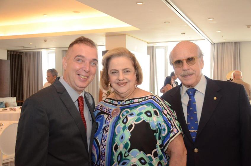 Bayard Boiteux, Cristina e Claudio Aboim