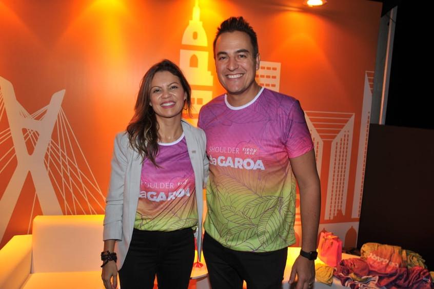 Patricia Ellen e Marcos Scaldelaia