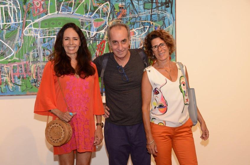 Beth Modesto, Ricardo Becker e Rachel Sa