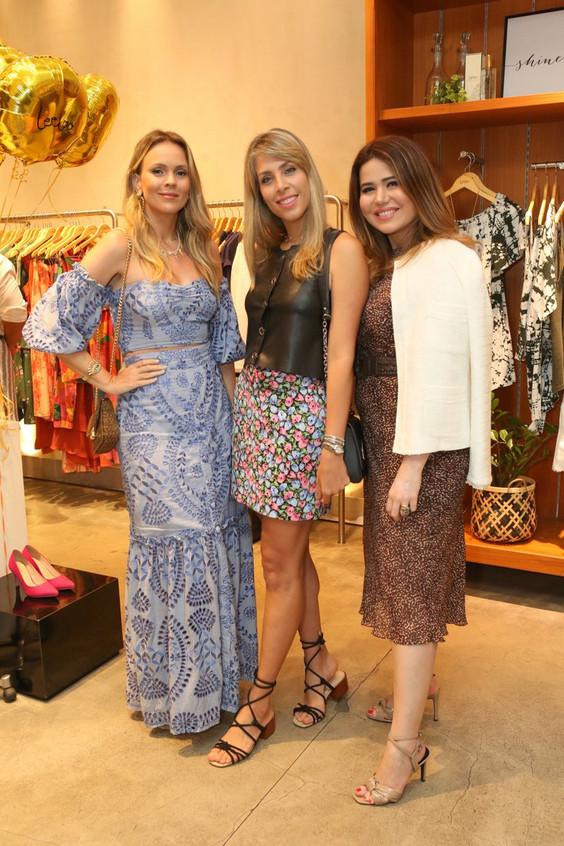 Lorena Campello, Monique Leite e Didi Ma