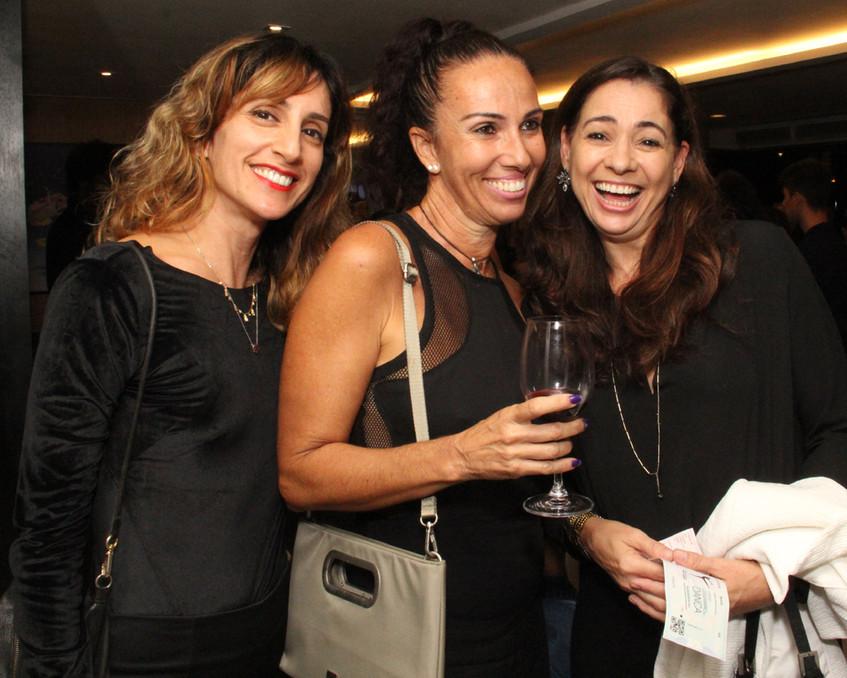 Fabiana Nunes, Denise Mendes e Marluce M