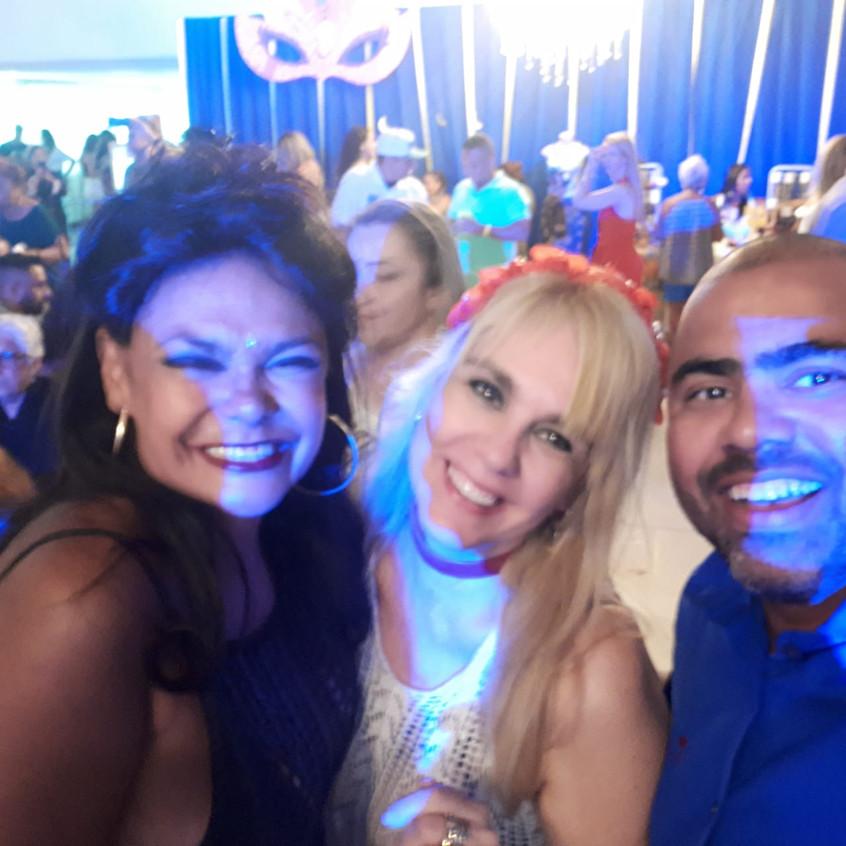 Adele, Marisa e Fábio Campos