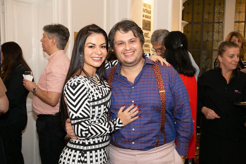 Bruna e Claudio Castro