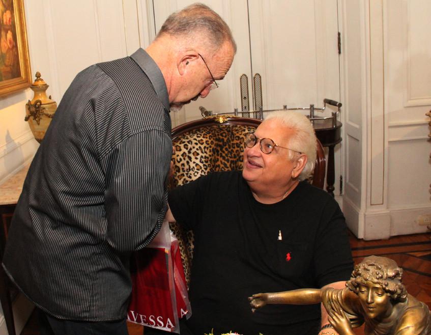 Ricardo Cravo Albin e Carlos Serpa