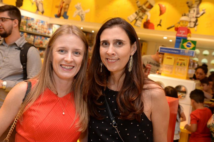 Daniela Cavinatto e Isabela Arrochellas.