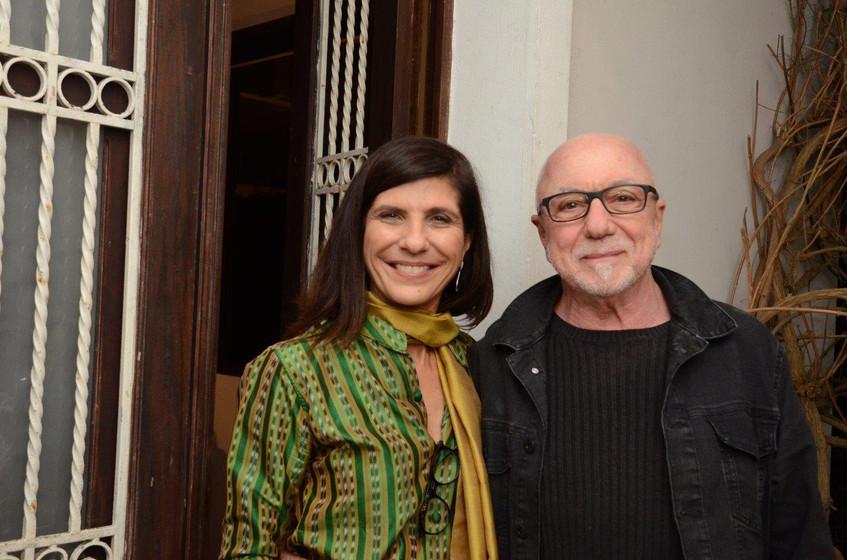 Gisela Zincone e Jair de Souza