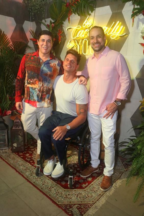 Diogenes Queiroz, Fernando Fernandes e M