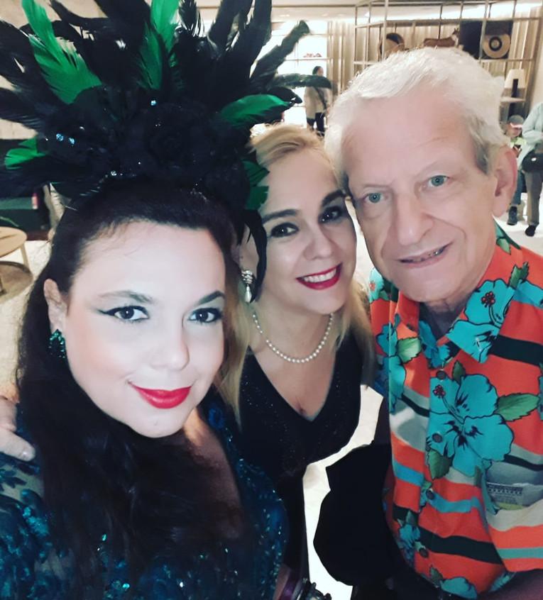 Dani, Marisa e Fernando Reski