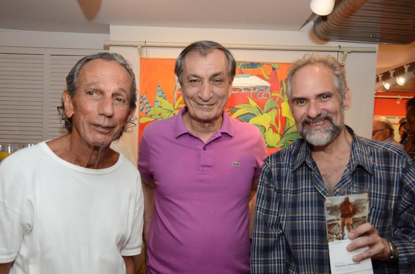 Alex Varella, Antonio Cicero e Alexei Bu