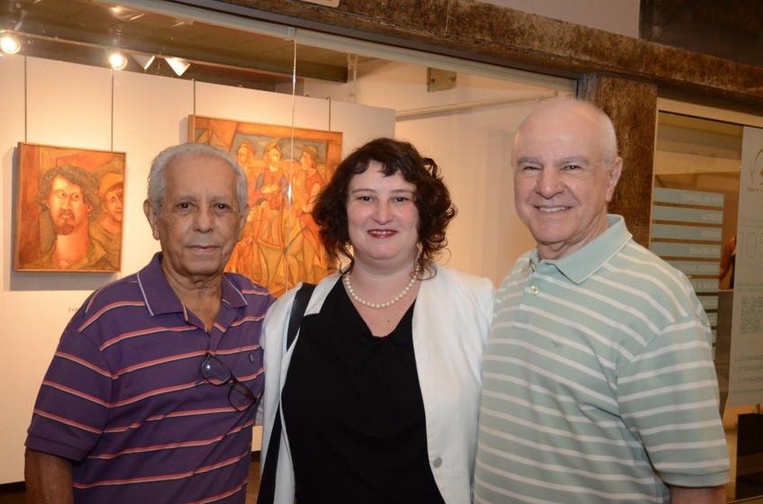 Paiva Brasil, Luiza Marcier e Wilson Pir