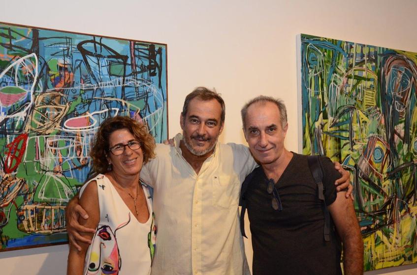 Rachel Sabbagh, Jorge Barata e Ricardo B