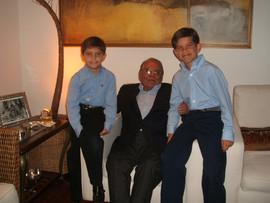 Sebastian Rivera, Ivo Pitanguy e Daniel Rivera