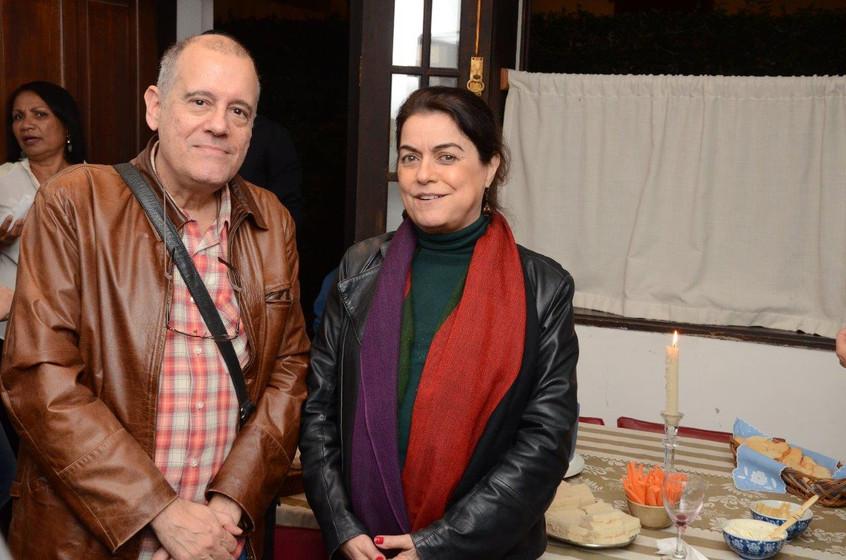 Paulo Henriques Britto e Lilian Fontes