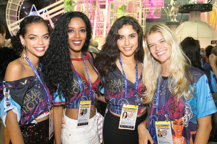 Yasmin Santana, Greice Fontes, Giovanna