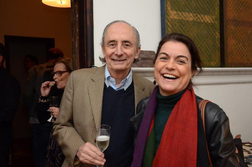 Arnon Elkind e Lilian Fontes