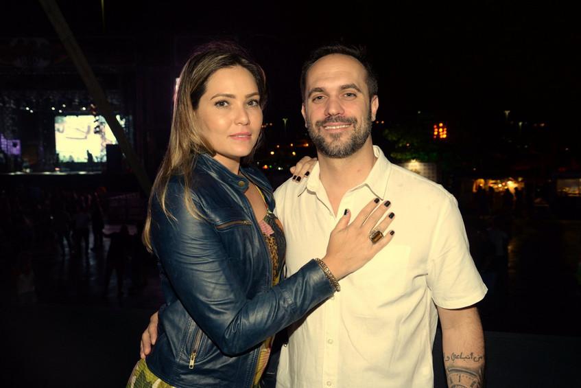 Debora Fragoso e Frederico Xavier