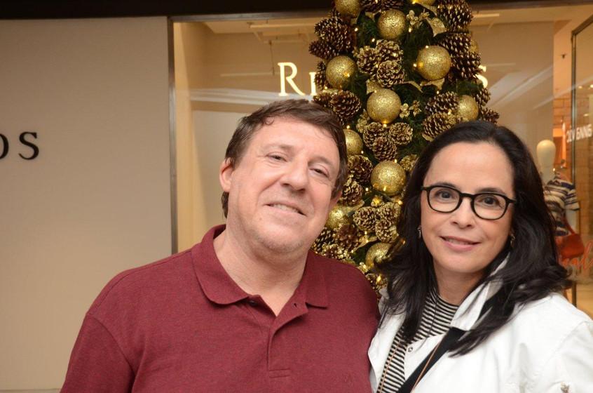 Marcelo Vals e Andrea Brown