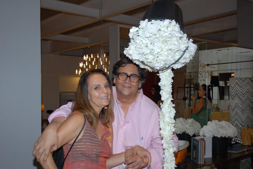 Patricia Secco e Antonio Neves da Rocha