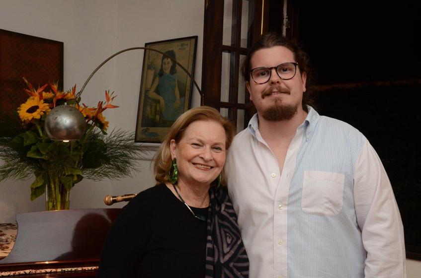 Beth Rio Branco e Bernardo Souza e Silva