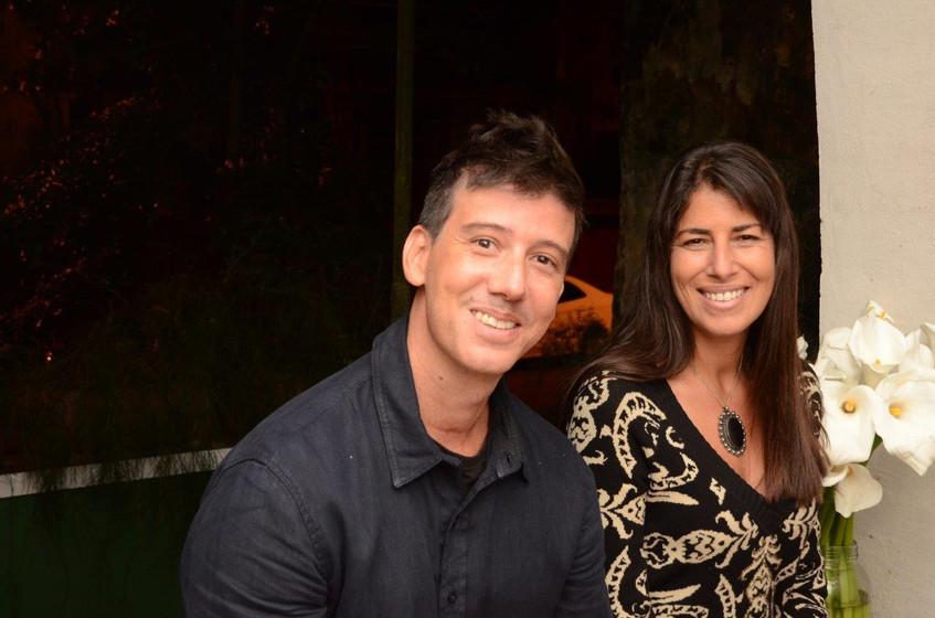 Felipe Maciel e Rita Capell