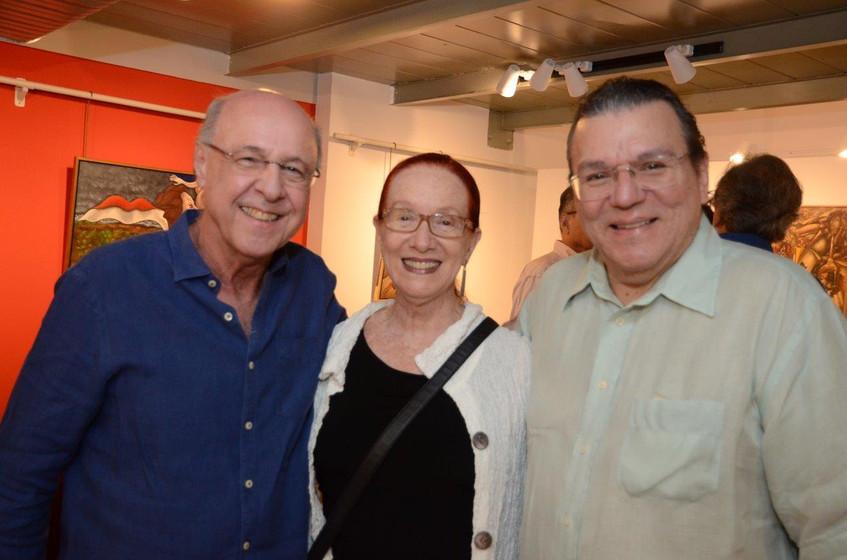 Evandro Carneiro, Regina Miranda e Luis