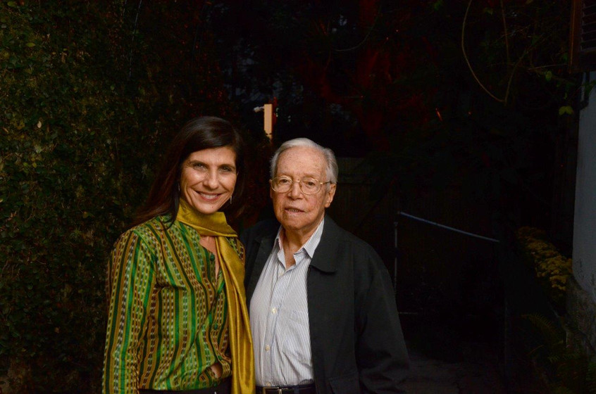 Gisela Zincone e Wilson Figueiredo