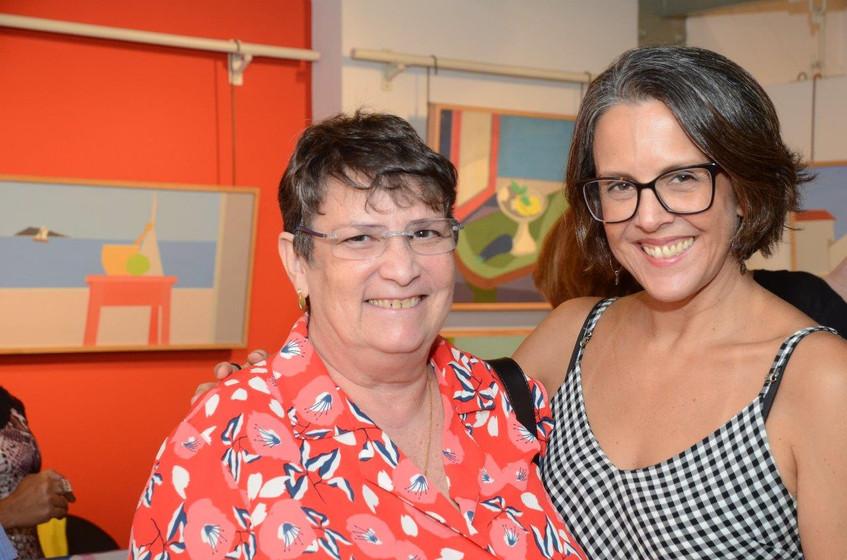 Hortense Marcier e Laura Carneiro