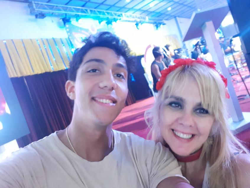 Arturo Recarey e Marisa Araujo