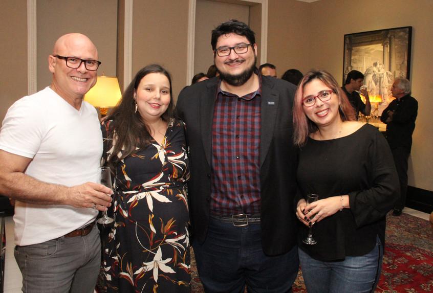 Urbano Lopes, Tatiana Marins, Leandro Ma