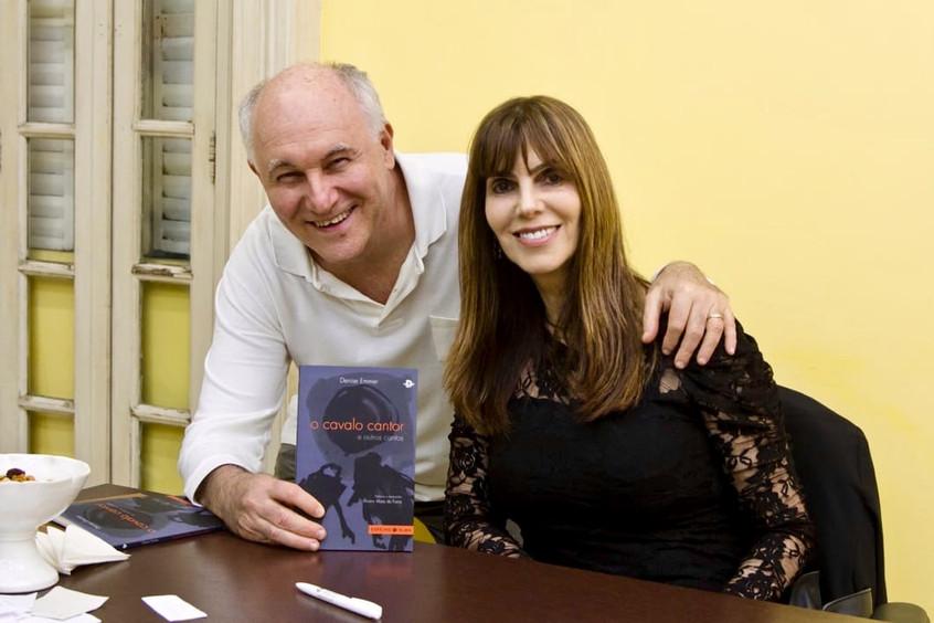 Emmer e o maestro David Ganc