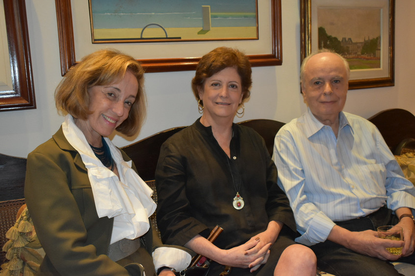 Celina Farias, Claudia Vianna e Ricardo