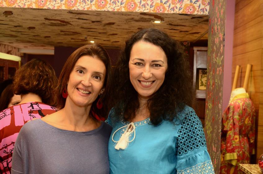 Grasiela Mendes e Flavia Pantoja