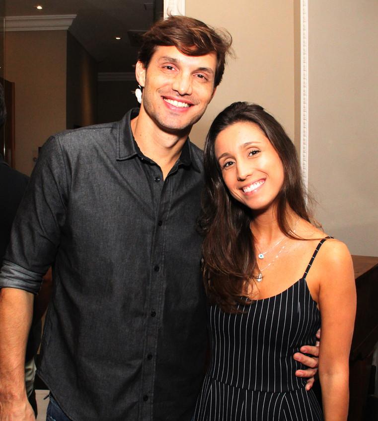 Alexandre Machafer  e  Mariana Schmidt