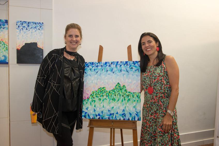 Kika Gama Lobo e Claudia Fulchignoni