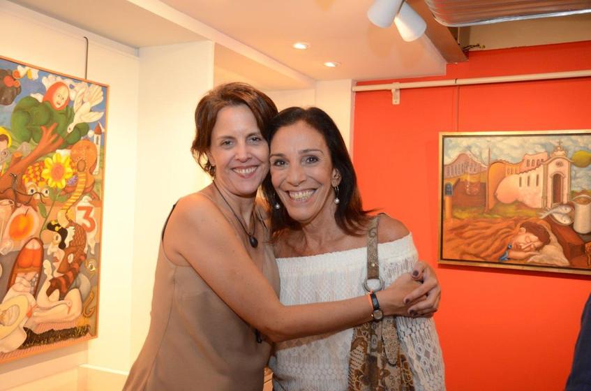 Laura Cavalcante e Alicinha Silveira