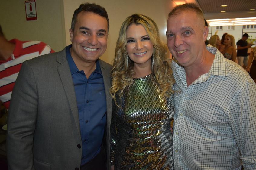 marcelo Moraes, Viviane Fernandes e Baya
