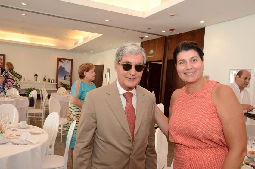 Sergio Costa e Silva e Anna Cristina Ros